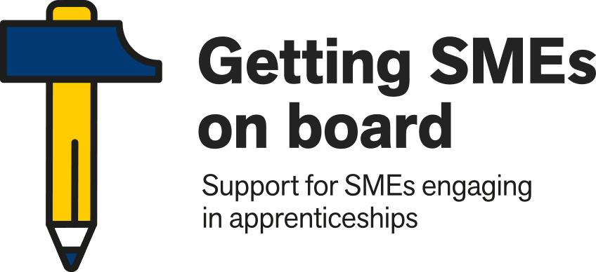 Support for small and medium sized enterprises engaging in apprenticeships