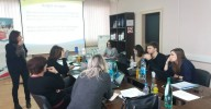 A project meeting was held in Prijedor as part of the project - Getting SMEs on board